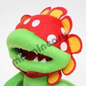 Nintendo Super Mario Bros 7 Piranha Figure Plush doll