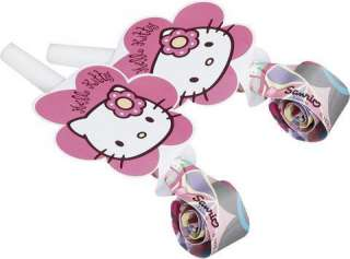 Hello Kitty Pink Stars Birthday Party Cups x 8