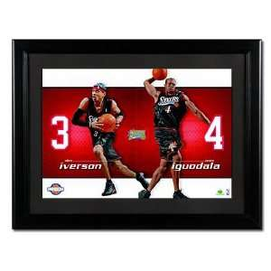 UD Jersey #s Allen Iverson Andre Iguodala 76ers: Sports