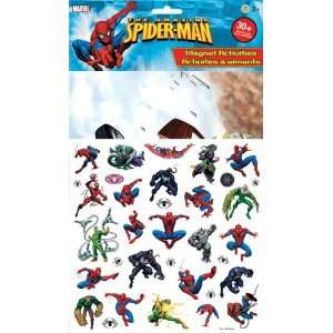 Spider man Magnetic Play Scene