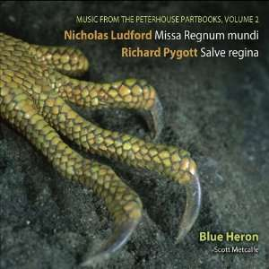 Ludford, Richard Pygott, Sarum Plainchant, Scott Metcalfe Music