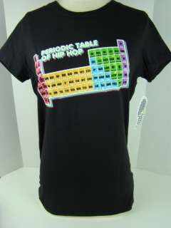 Loyal Army Black Periodic Table of Hip Hop Tee 1201