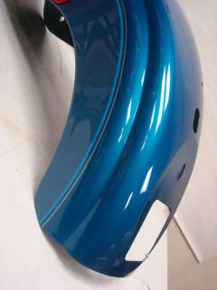 WIDE GLIDE FXDWG 2 TONE BLUE PAINT SET GAS TANK FLAMES FENDERS