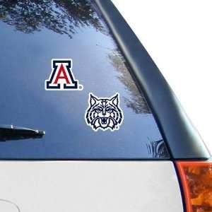 Arizona Wildcats 2 Pack 4 x 4 Die Cut Decals