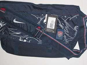 Nike USA Federation Cascade Messenger Bag Travel Shoulder Laptop New