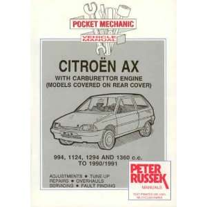 Citroen AX Petrol Models to 1990 (9780907779148): Peter Russek: Books