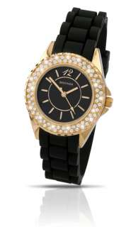 Ladies Sekonda Gold Plated Stone Set Party Time watch
