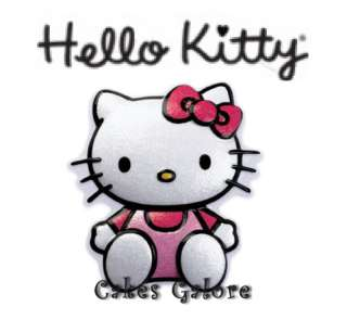Hello Kitty Cake Cupcake POP TOP Decoration Toppers Layon