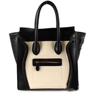 Faux Leather Bag Purse Handbag Tote Satchel 3 styles