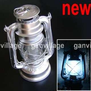 LED Kerosene Lamp Light Lantern Fr Camping Fishing Tent