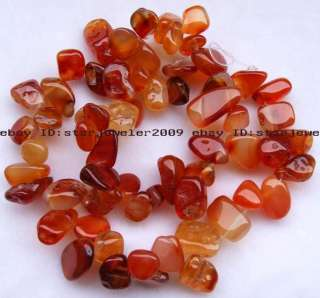 new 10 12mm Natural Red Agate Flat Freeform Beads 15 high quality