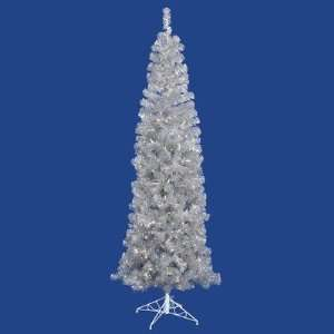 120 Artificial Pencil Christmas Tree with Clear Lights in