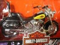 HARLEY DAVIDSON FLSTC HERITAGE Softail CLASSIC YELLOW