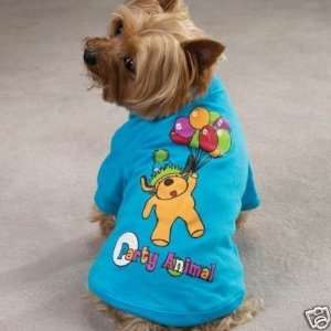 Casual Canine Party Animal Printed Dog Tee XX SMALL