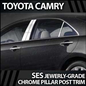 2007 2010 Toyota Camry 6pc. SES Chrome Pillar Trim Covers