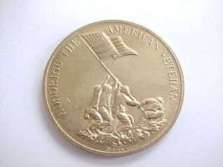 Coin Honoring The American Veteran Preserving American Freedom