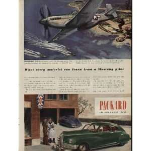 What every motorist can learn from a P 51 Mustang pilot. .. 1945