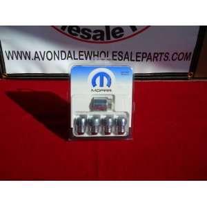 Chrysler 300 2011 2012 Wheel Lock Lug Nuts Mopar OEM