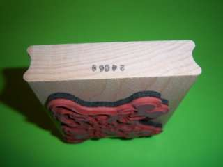 CLASSIC Disney MICKEY MOUSE Minnie ANM Rubber Stamp Lg