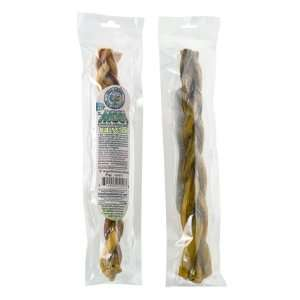Free Range Eco Naturals 12 Odor free Braided Bully Stick
