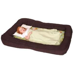 Leachco BumpZZZ Travel Bed, Brown/Green Forest Frolics Baby