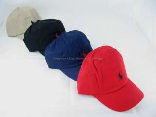 Polo Ralph Lauren Cap Hat Boys 4 20 Navy Red Black Tan 885031916083
