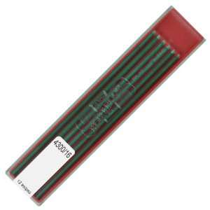 Koh i noor 2.0 mm Green Leads for Technical Drawing. 4300