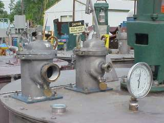 300 Gallon Stainless Steel Tank w Agitator Mixer in NJ
