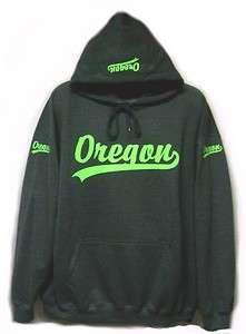 NEW State Of Oregon Hoodie Hooded Sweatshirt Dark Heather Mens Womens