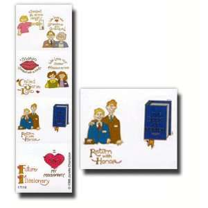 , LDS Stickers, Missionary, Package of 36  Great for Scrap booking
