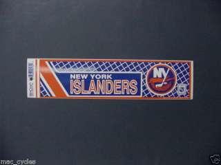 Vintage NHL New York Islanders Bumper Sticker