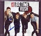 Signed Autographed BIG TIME RUSH CD LOGAN HENDERSON & JAMES MASLOW