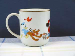 Vintage Walt Disney Characters Coffee Mug Ceramic Mickey Mouse Dumbo