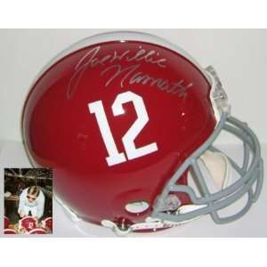 Joe Namath Signed Alabama ProLine Helmet