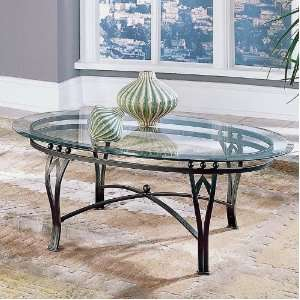 Steve Silver Madrid Coffee Table Glass Top Furniture