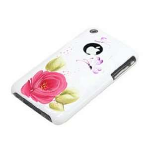 Gogo Ultra Slim Case for iPhone 3G/S  Handpainted Rose