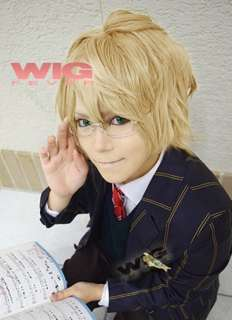 Uta no Prince sama Natsuki Shinomiya Short Blonde Cosplay Wig