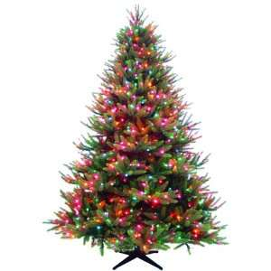 7.5 Ft Greenbriar Artificial Prelit Christmas Tree with