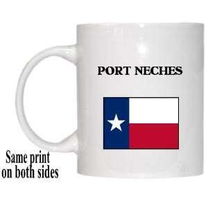 US State Flag   PORT NECHES, Texas (TX) Mug Everything