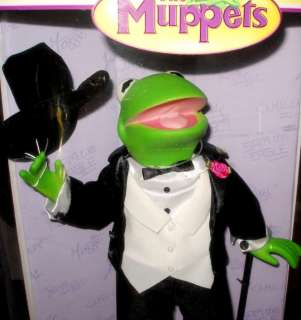 FROG FORMAL COLLECTIBLE PORCELAIN DOLL MUPPETS NEW IN BOX~GIFT