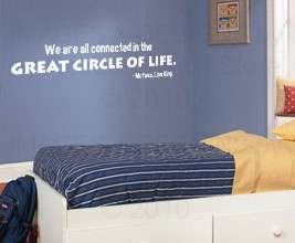 Lion King Disney Mufasa Vinyl Wall Art Sticker Decal Quote Lettering
