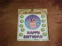 NEW HAPPY BIRTHDAY PENGUIN HAPPY FEET CAKE DECORATIONS