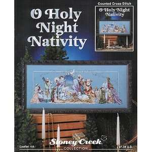 O Holy Night Nativity, Cross Stitch from Stoney Creek