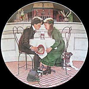 Valentines Day by Don Spaulding Collector Plate