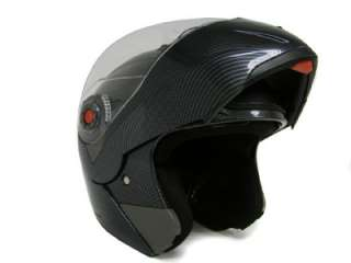 MODULAR FLIP UP DUAL VISOR SUN SHIELD MOTORCYCLE HELMET sz S M L XL
