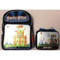 Angry Birds 16 3D Backpack+LUNCHBOX Kit Combo FASTship