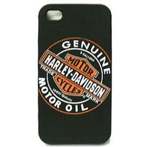 Apple iPhone 4 / 4s Harley Davidson Snap_On Case, Motor Oil Hard Case