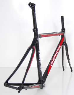 EDDY MERCKX LXM FULL CARBON ROAD BIKE FRAME SET MONOCOQUE 47 cm