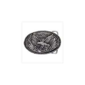 Pewter Flying Eagle Belt Buckle Everything Else