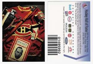 1994 HOCKEY HALL OF FAME #7 of 12   HOWIE MORENZ HHOF